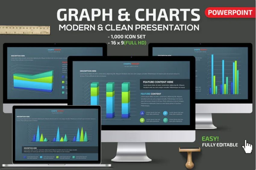 Graphs and Charts in a Presentation