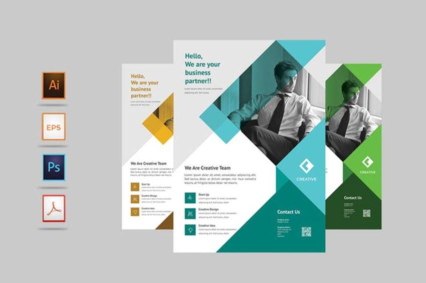 Shapes Modern Flyer Design