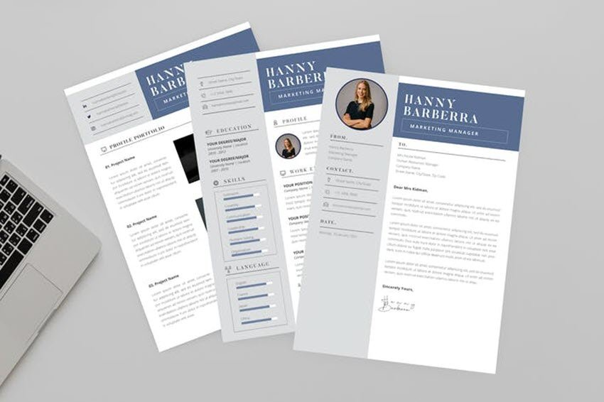 Hanny Marketing Resume Designer