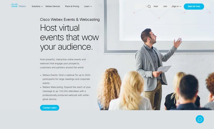 Cisco Webex Webinar Software