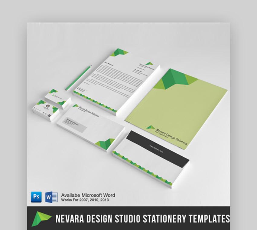 Nevara Design Studios Stationery Set for Word