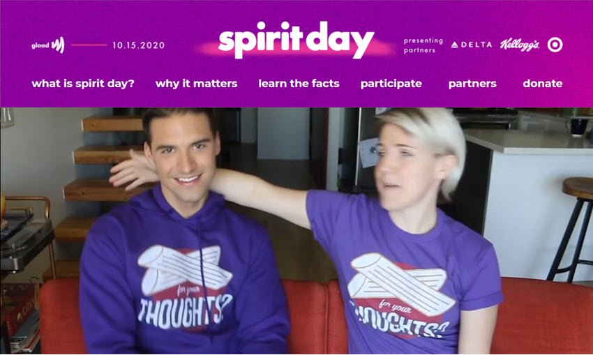 Spirit Day 2020