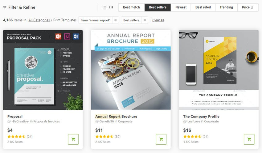 Charity Annual Report Templates