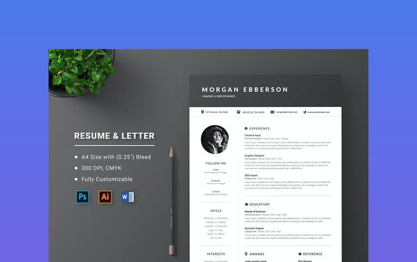 Resume Letter to use for SOP Format