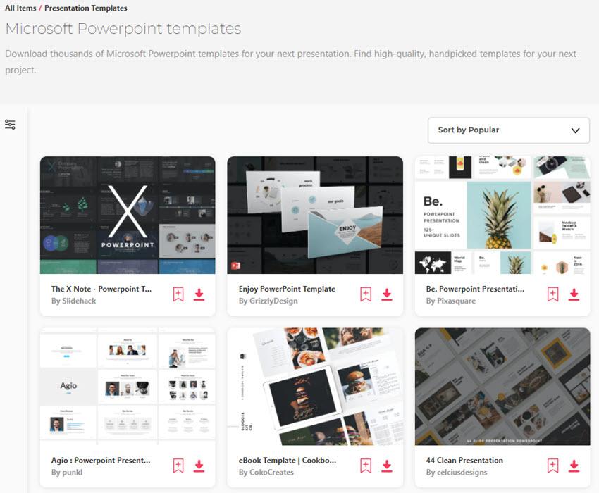 PowerPoint Templates On Envato Elements