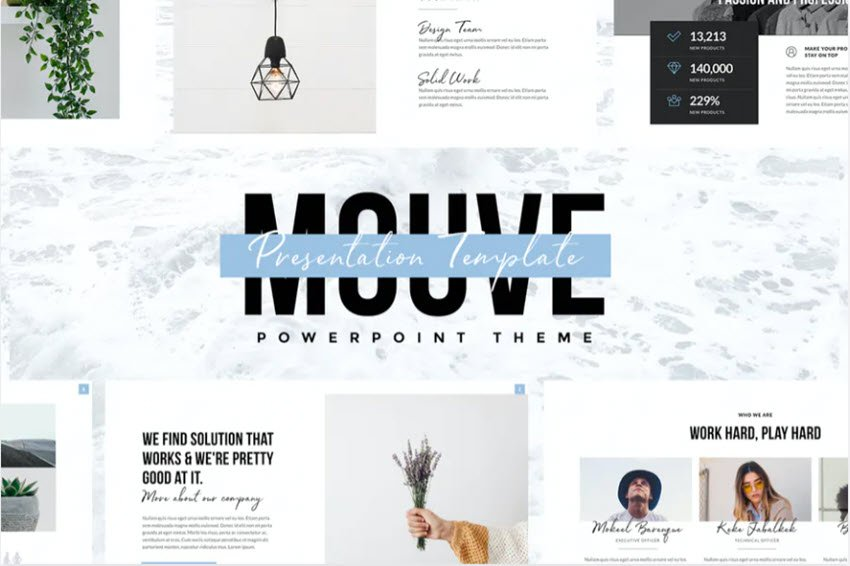 Mouve PowerPoint Template
