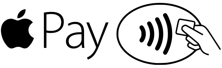 Apple Pay and contactless payment symbols