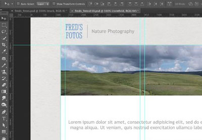 Preview for Photoshop CS6 for Web Designers