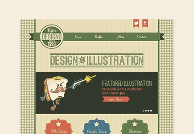 Preview for Mastering Retro Web Design