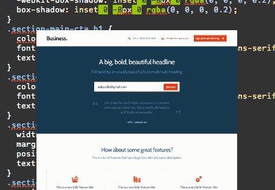 Preview for PSD to HTML for Designers
