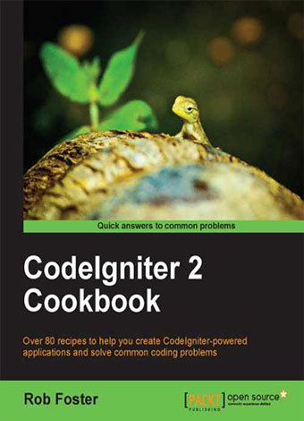 Preview for CodeIgniter 2 Cookbook