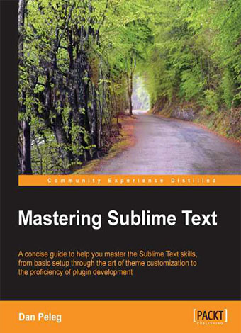 Preview for Mastering Sublime Text