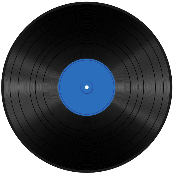 Create A Vinyl Record And 80 S Album Cover