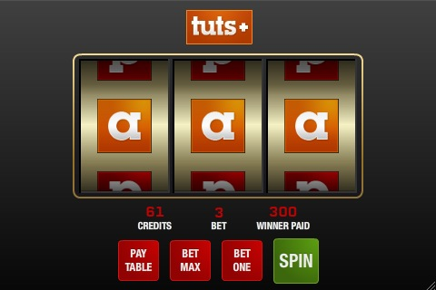 Create a Slot Machine Game in Flash Using AS3
