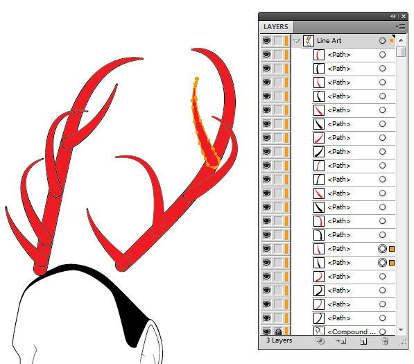 Create the Antlers