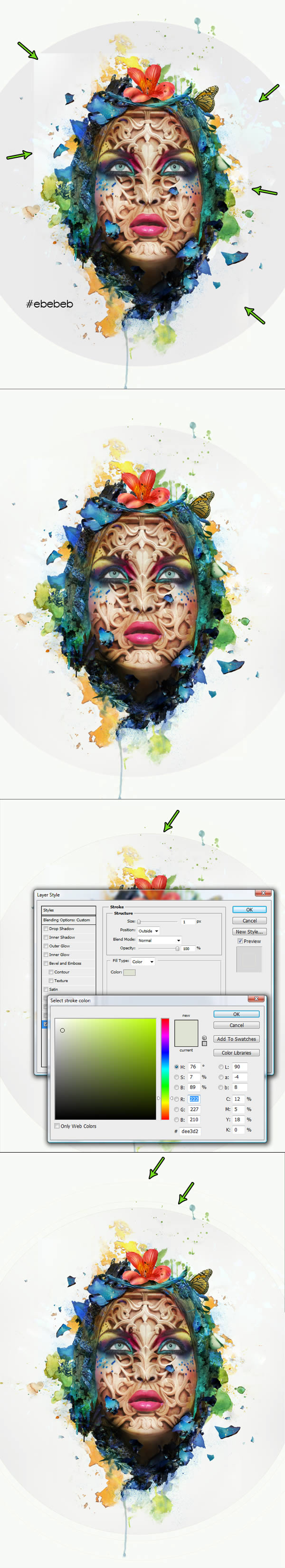 How to Create a Beautiful Abstract Portrait in Photoshop