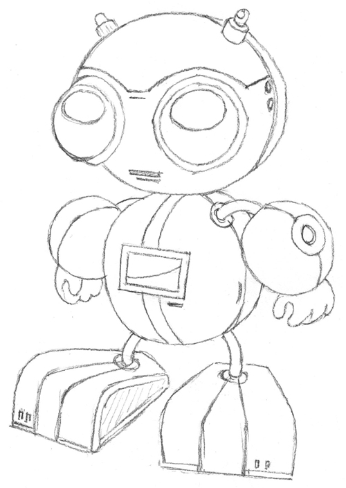 Create A Cute Robot Using Adobe Illustrator