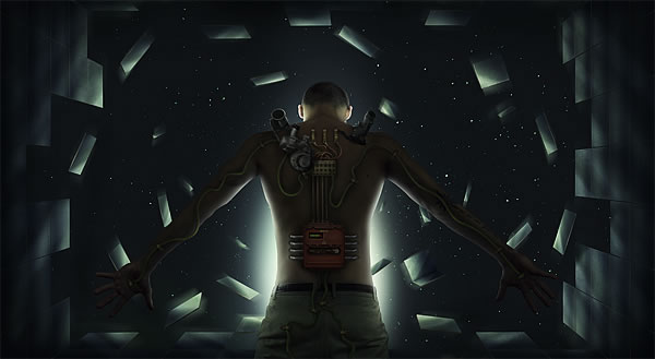 Create a sci fi scene using advanced shading techniques in photoshop conclusion toneelgroepblik Image collections