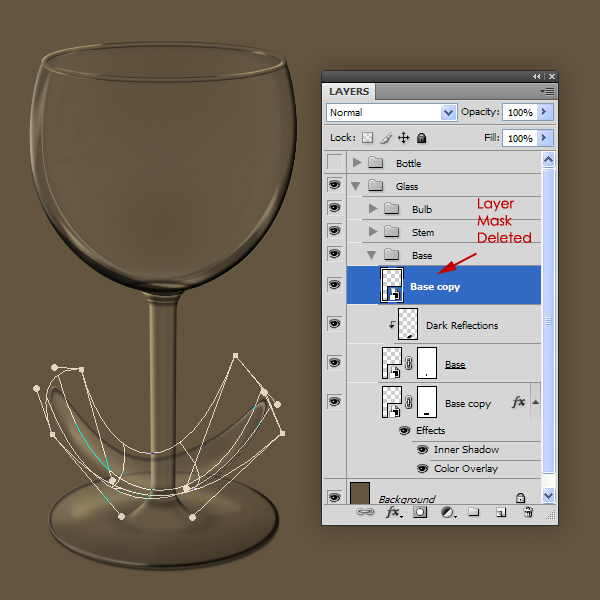 Create the Glass Stem