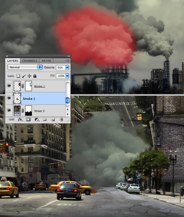 Create Dust Clouds