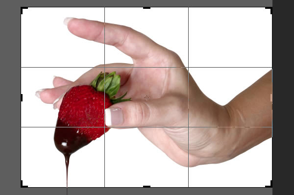 Add the Strawberry and Hand
