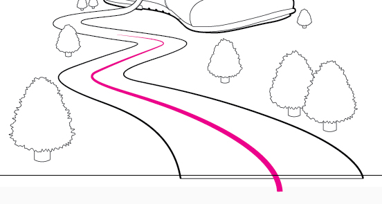 how to make a dashed line around object illustrator