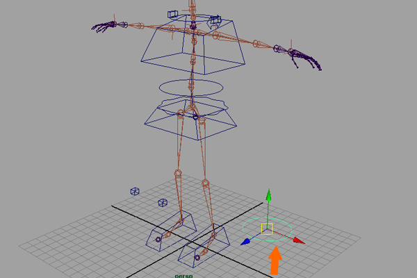 Building A Complete Human Character Rig In Maya, Hand Controls