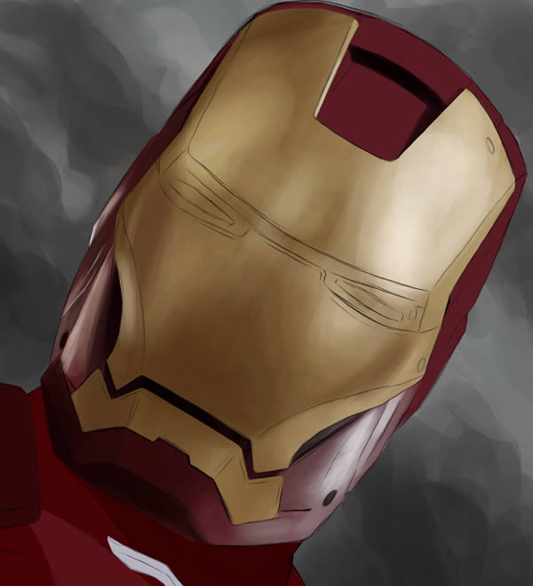 "Create Stunning ""Iron Man"" Fan Art From Scratch in Photoshop"