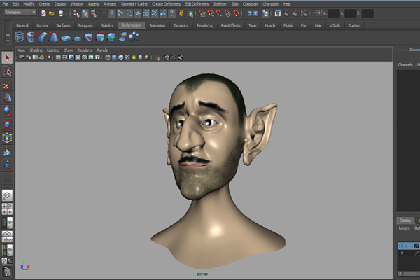 Building A Complete Human Facial Rig In Maya, Part 1