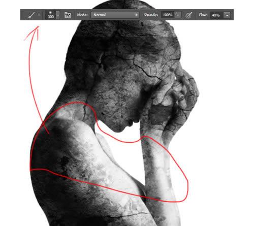 how to delete unused area of image in photoshop