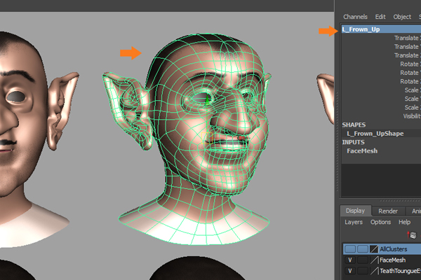 Building A Complete Human Facial Rig In Maya, Part 2