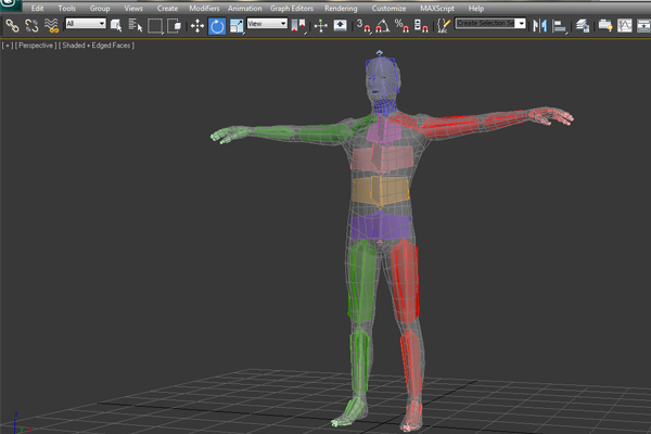 Complete human character rig in 3d studio max part 2 for 3ds max step by step tutorials for beginners