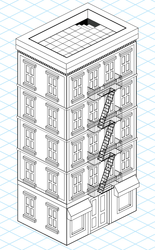 How to Create a Detailed Isometric Building in Adobe Illustrator
