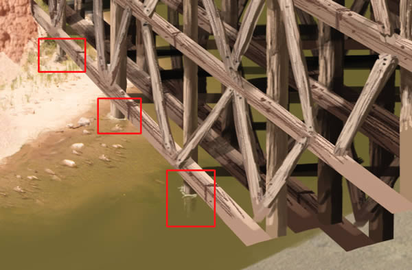 Create a Photo Realistic Bridge