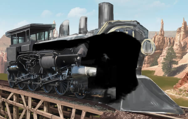 Create a Photo Realistic Train