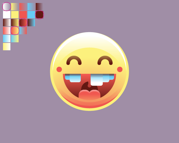 Create the Happy Emoticon