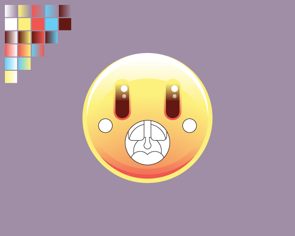 Create the Surprised Emoticon