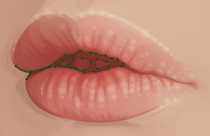Create the Lips