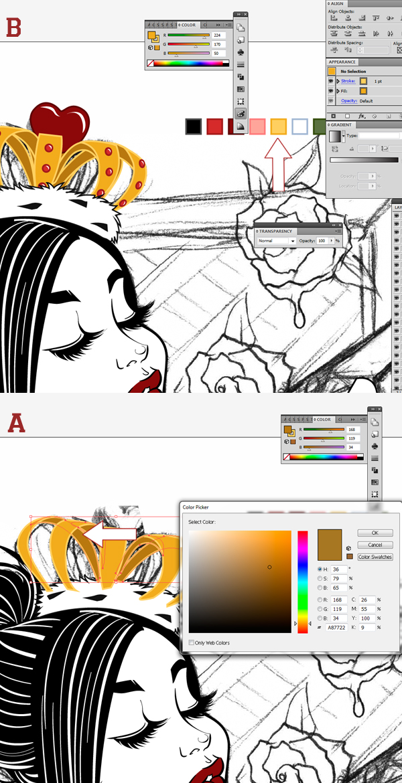 how to get rid of inside stroke illustrator
