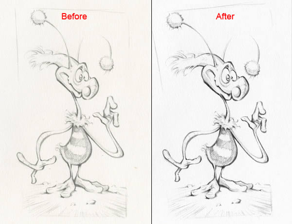 Turn a Pencil Sketch Into a Colorful and Dynamic Character Illustration