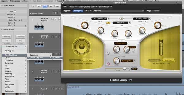 how to add reverb in logic