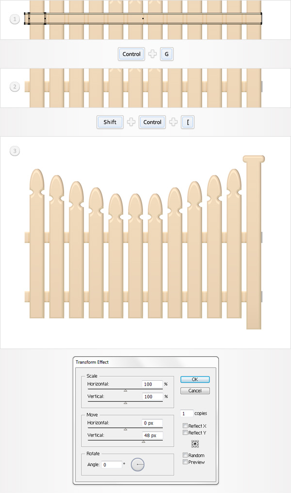 Create the Fence