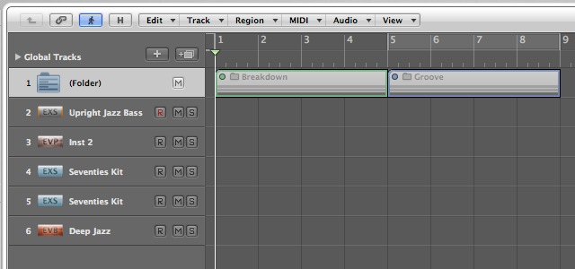 how to create a drum track in logic pro