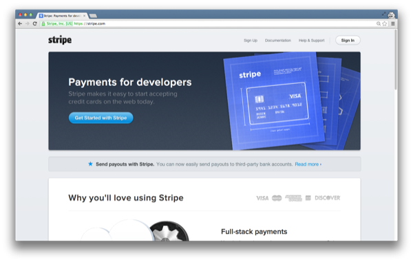 How to Accept Payments With Stripe