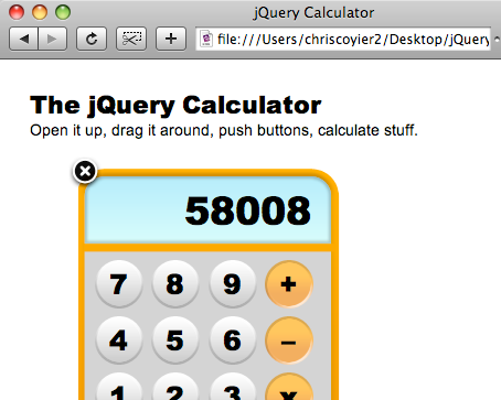 Creating an Incredible jQuery Calculator