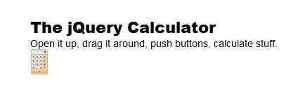 Creating an Incredible jQuery Calculator