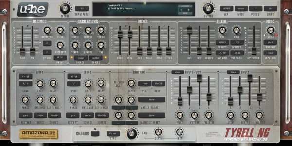 BassC2 synth settings