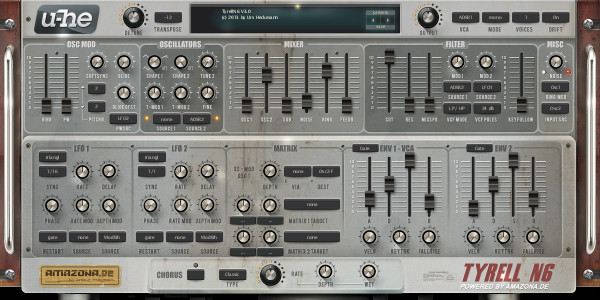 BassC3 synth settings