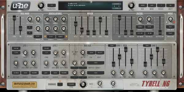 LeadC4 synth settings