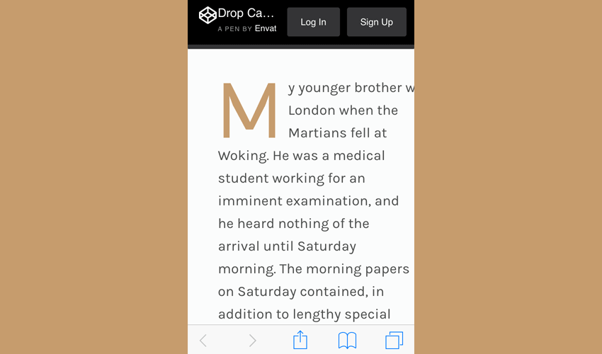 "Better CSS Drop Caps With ""initial-letter"""